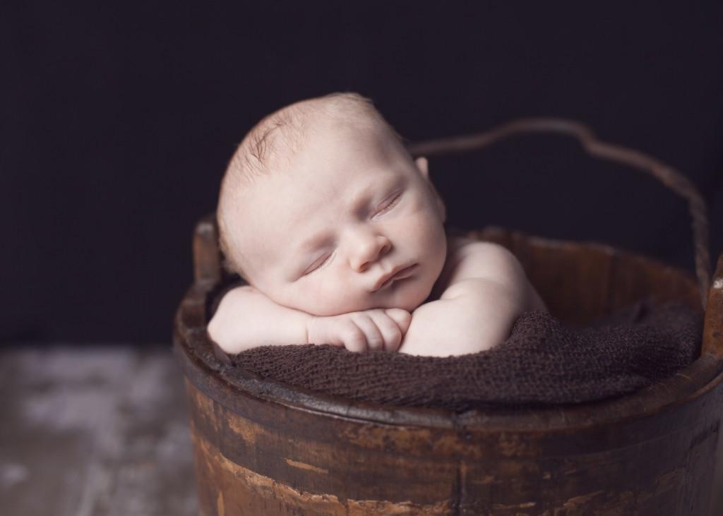 Newborn Baby Sawyer