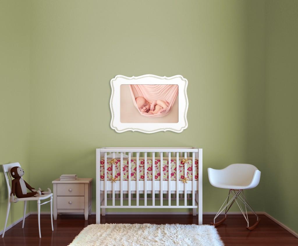 Newborn Photography in a nursery