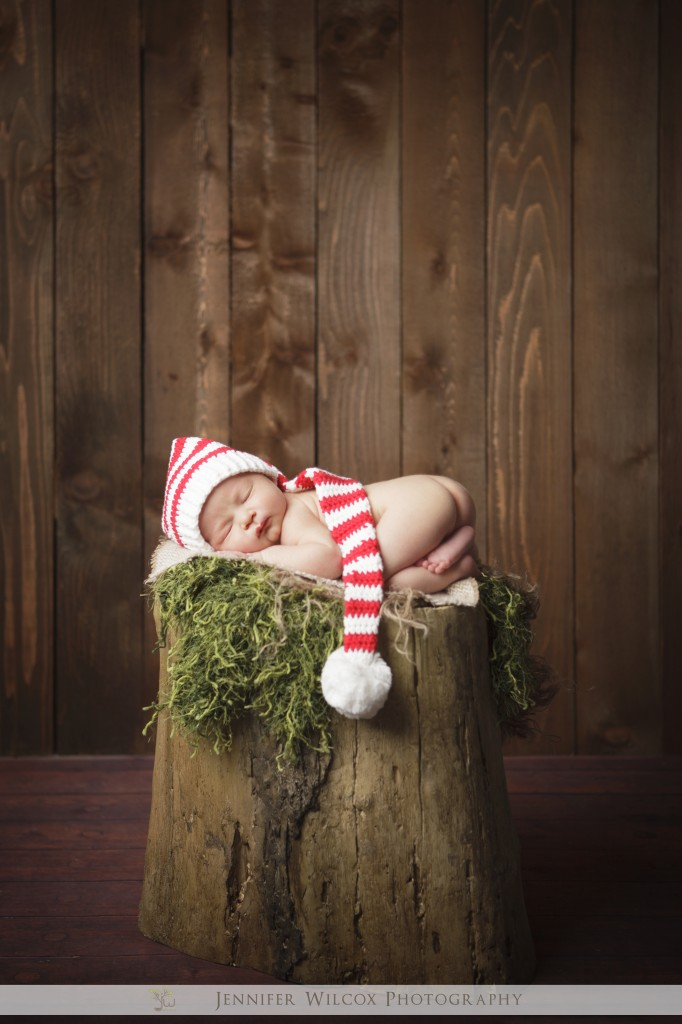 Newborn photographer Seattle Tacoma Gig Harbor Levi 7 682x1024 Christmas Baby