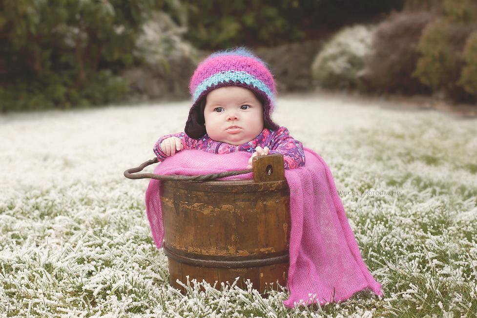 Baby Photographer Seattle Tacoma Gig Harbor L Snow Baby