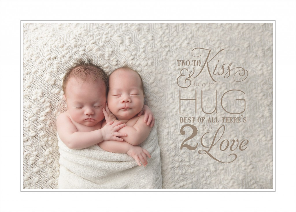 Newborn Photographer Seattle Twins 1024x736 Seattle Newborn Photographer   A Golden Thread