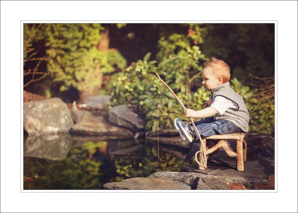 493d671b26b97 Bonney Lake Baby Photographer ~ Teach A Boy To Fish - Seattle ...