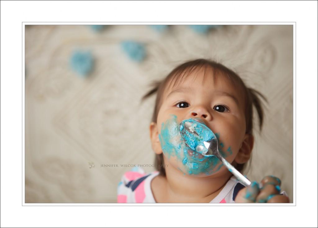 Tacoma Baby Photographer_cake smash_Jennifer Wilcox Photography Raven (6)