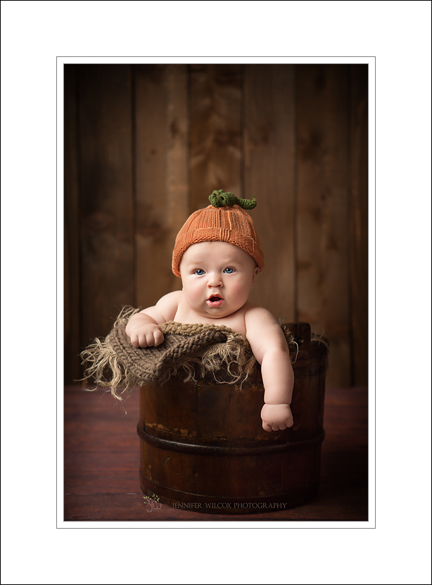 Auburn Baby Photographer Jennifer Wilcox Photography Auburn Baby Photographer ~ Pumpkin Head