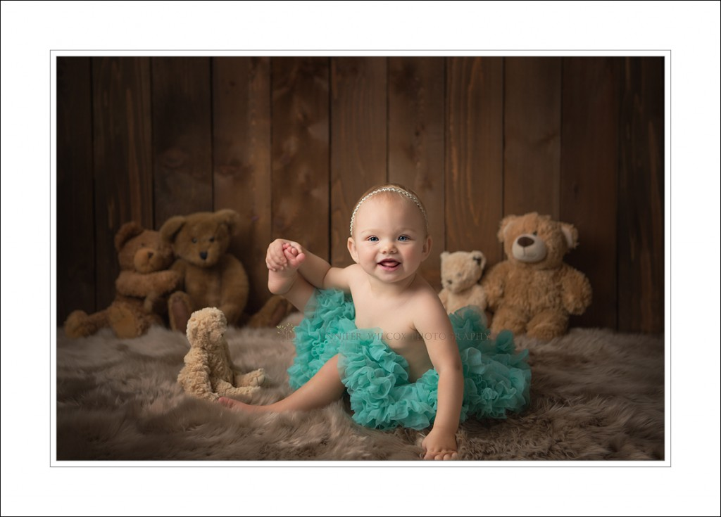 Seattle Baby Photographer Jennifer Wilcox Photography Cake Smash Sierra 1 1024x735 Seattle Baby Photographer ~ Teddy Bears