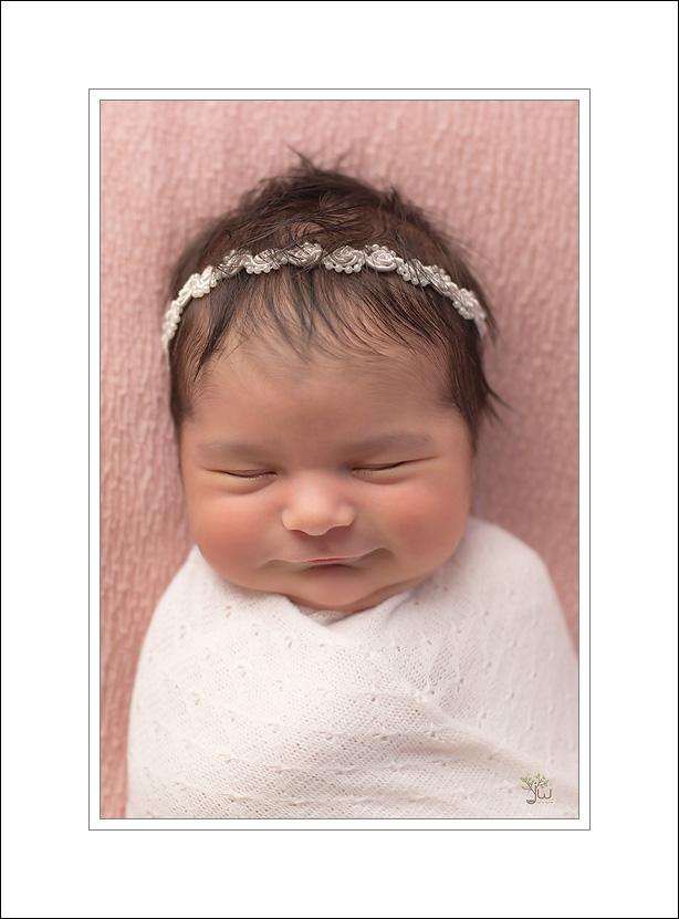 Tacoma Newborn Photographer Jennifer Wilcox Photography Smiling baby Tacoma Newborn Photographer ~ The Key