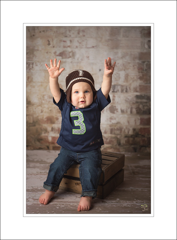 Seattle Baby Photographer Jennifer Wilcox Photography SeaHawks Seattle Baby Photographer ~ Go Sea Hawks!