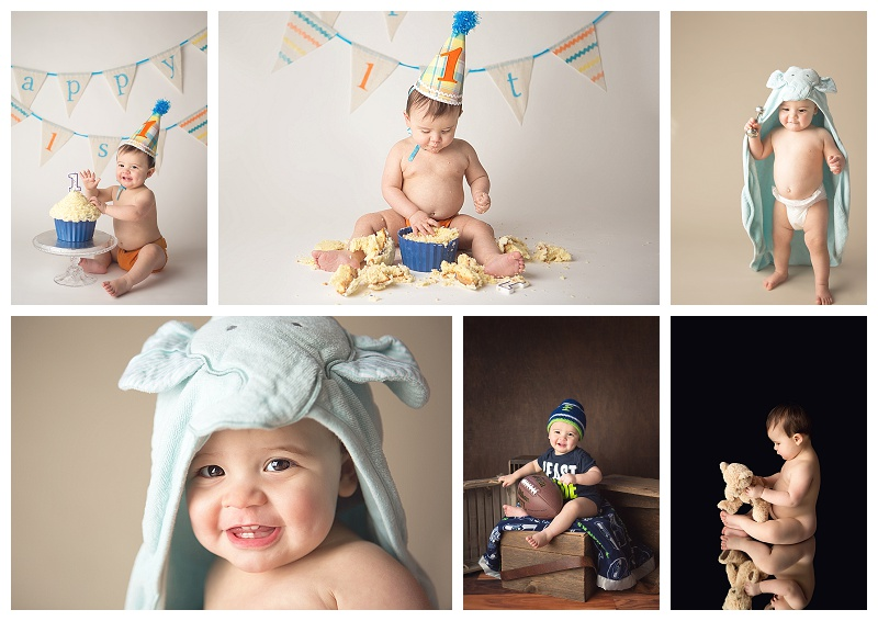 Puyallup Baby Photographer_Jennifer Wilcox Photography_Cake Smash_Baby