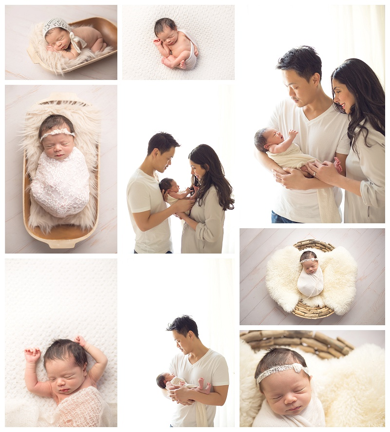Seattle Baby Photographer Jennifer Wilcox Photography In Props And Newborn With Parents
