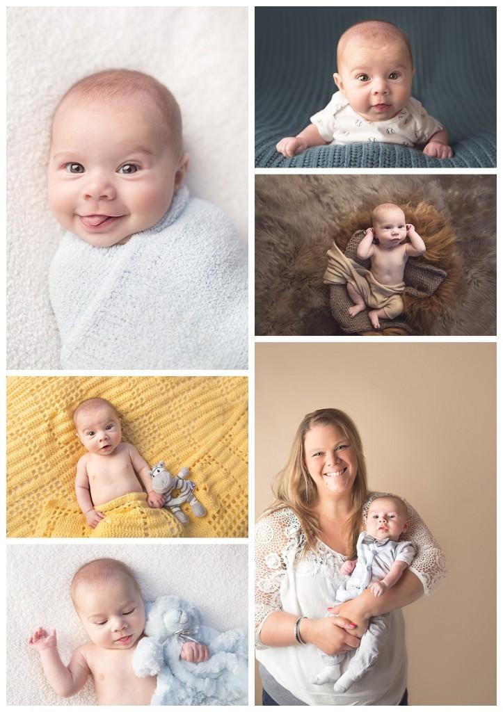 Tacoma Baby Photographer Jennifer Wilcox Photography 100 days baby portraits 723x1024 Tacoma Baby Photographer ~ Bradley
