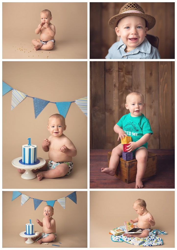 Auburn baby photographer, baby pictures, cake smash