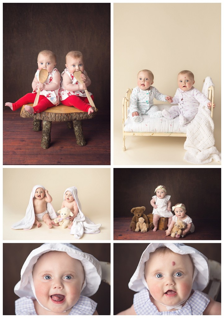 Seattle baby poraits Twins Jennifer Wilcox Photography 723x1024 Seattle Baby Portraits ~ Sisterhood