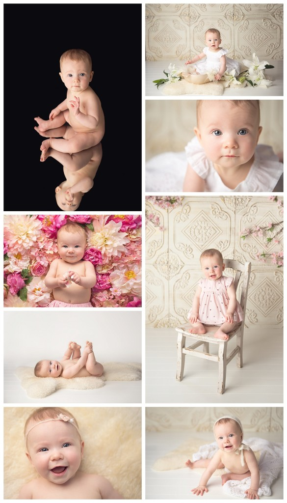 Gig Harbor Baby Photographer,  Gig Harbor baby pictures,  baby girl milestone portraits, baby pictures