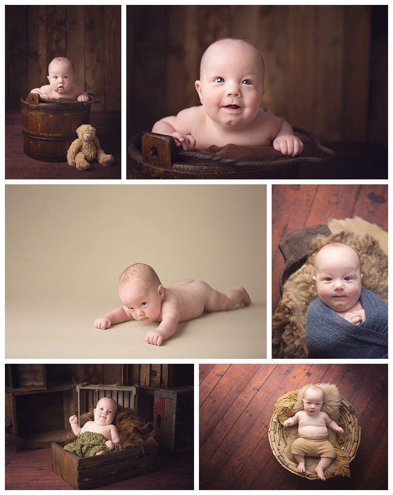 baby pictures, Puyallup, 3 month session