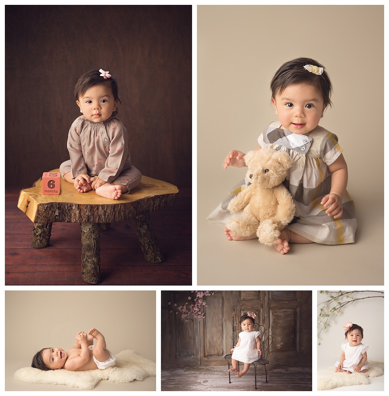 Seattle, baby pictures, baby girl, milestone photos