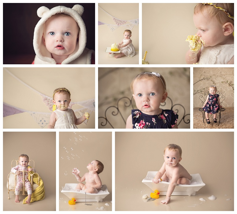 Tacoma, baby pictures, baby, cake smash, birthday