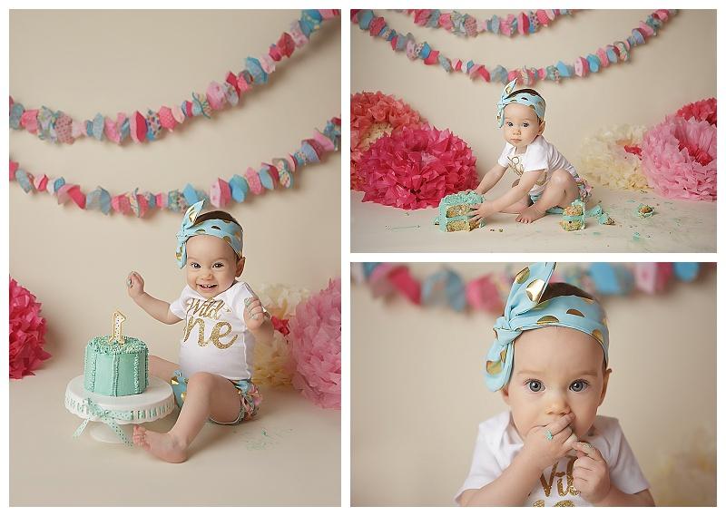 cake smash, baby milestones, baby pictures, birthday