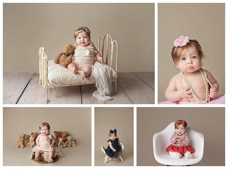 baby, infant, toddler, portraits, pictures, photography, photographer, Puyallup, Christmas, milestones, 6 months