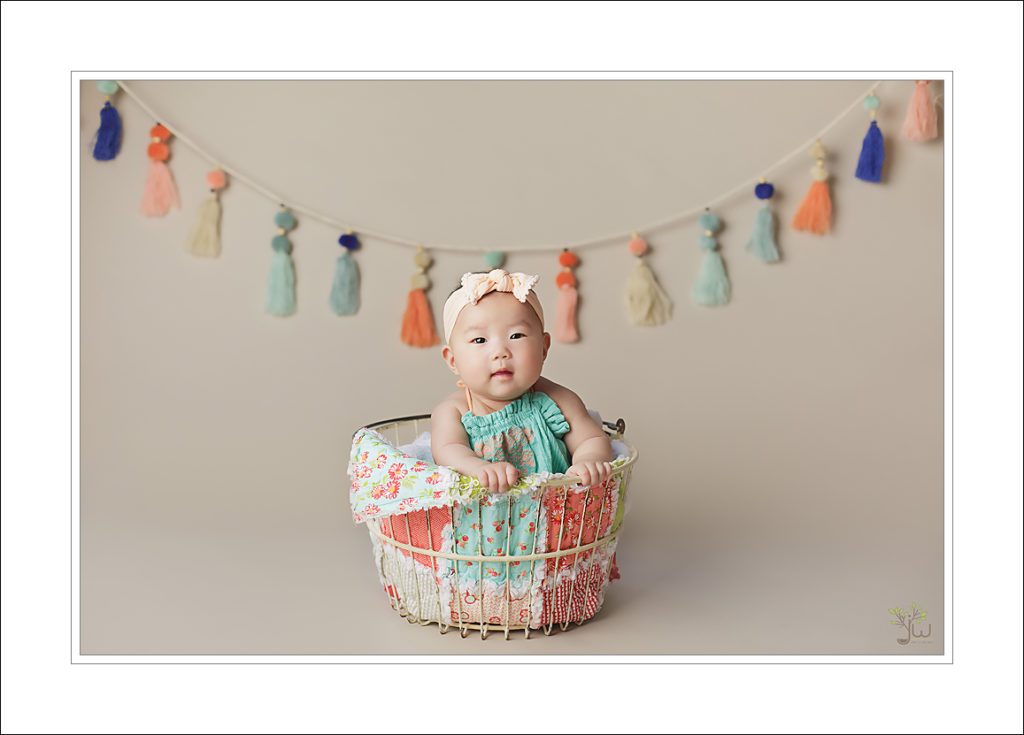 100 days baby photography